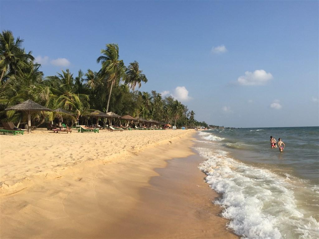 Ostrov Phu Quoc, pláž Long Beach