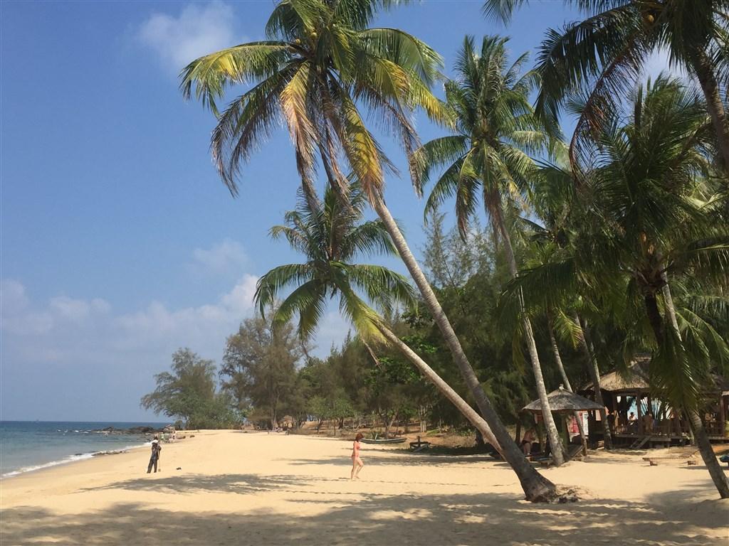 Ostrov Phu Quoc, pláž Ong Lang Beach