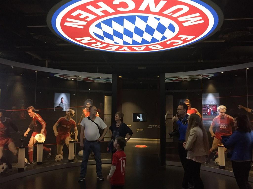 Mnichov - muzeum Bayern Mnichov