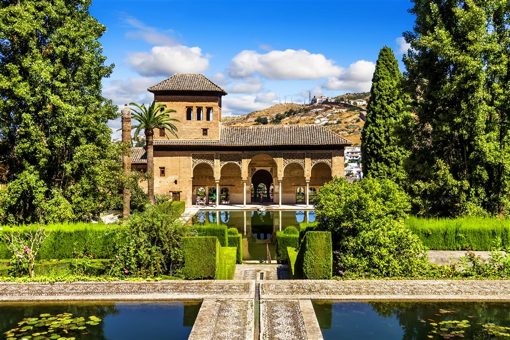 Krásy Andalusie - Alhambra