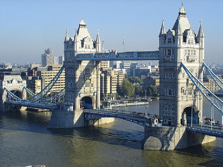 Londýn, Velká Británie, Tower Bridge