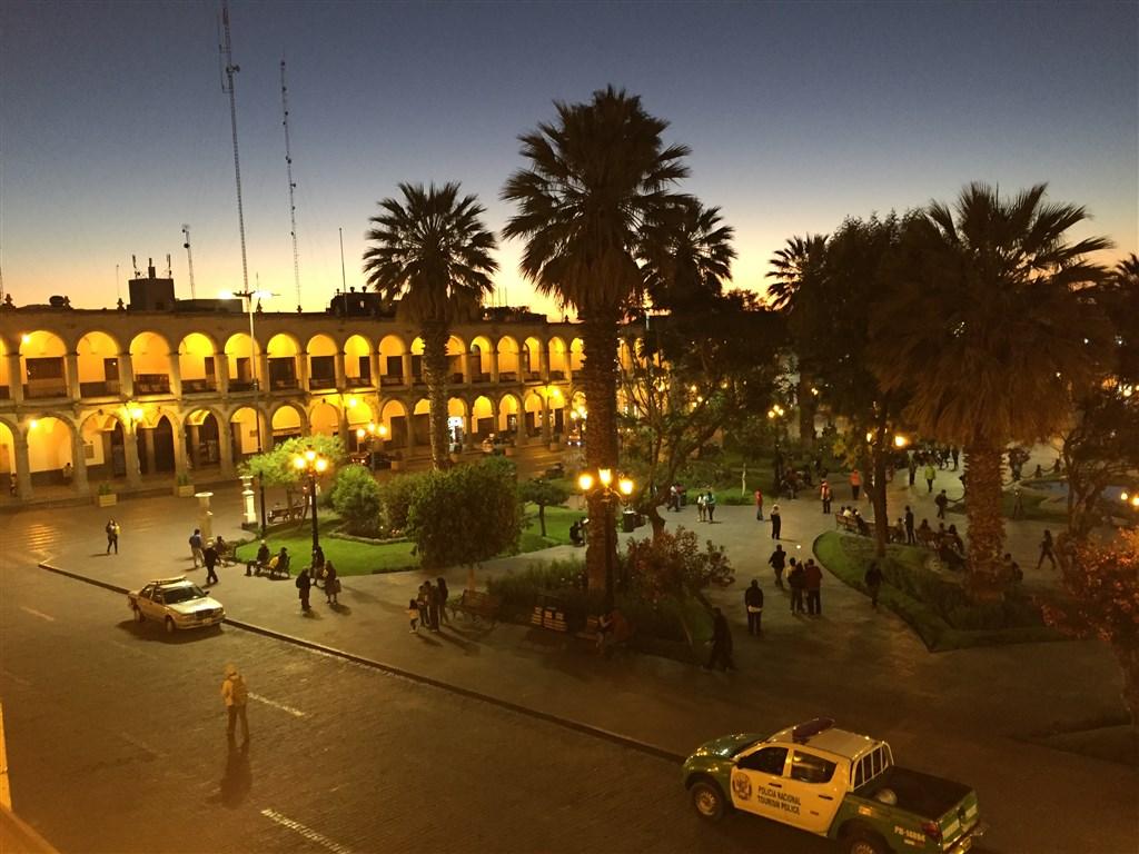 Arequipa náměstí