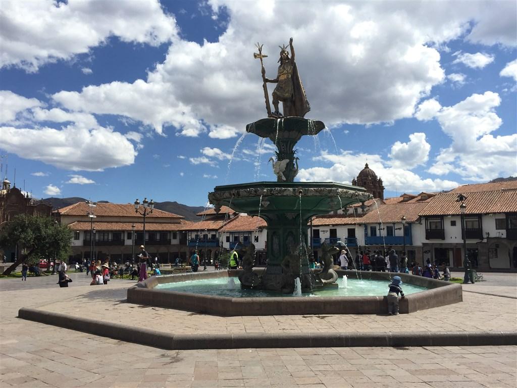 Cusco náměstí