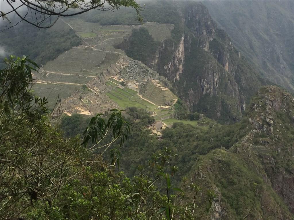 Výstup na Huayna Picchu