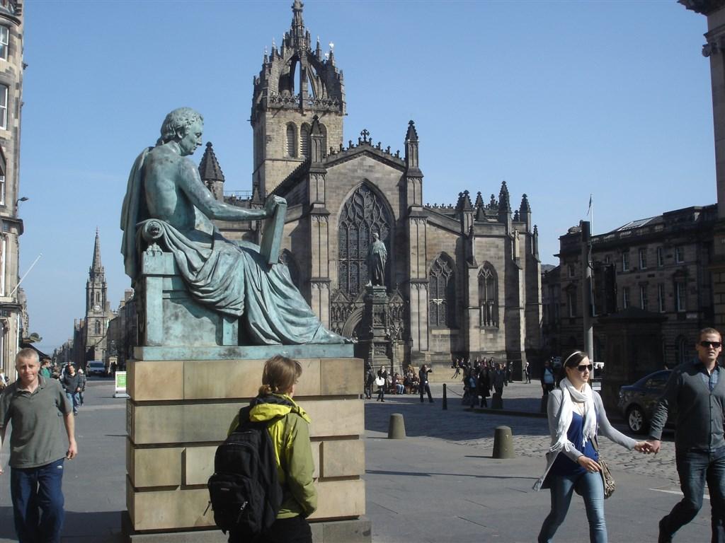Edinburgh - katedrála