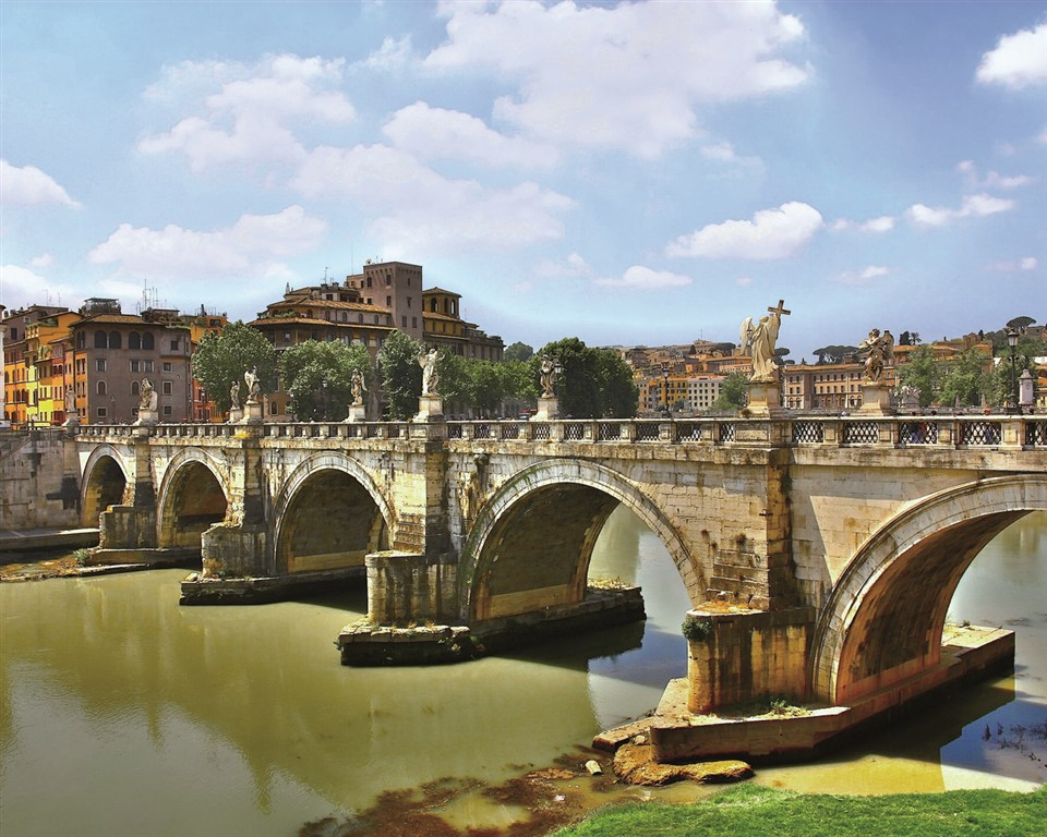 Řím - Andělský most