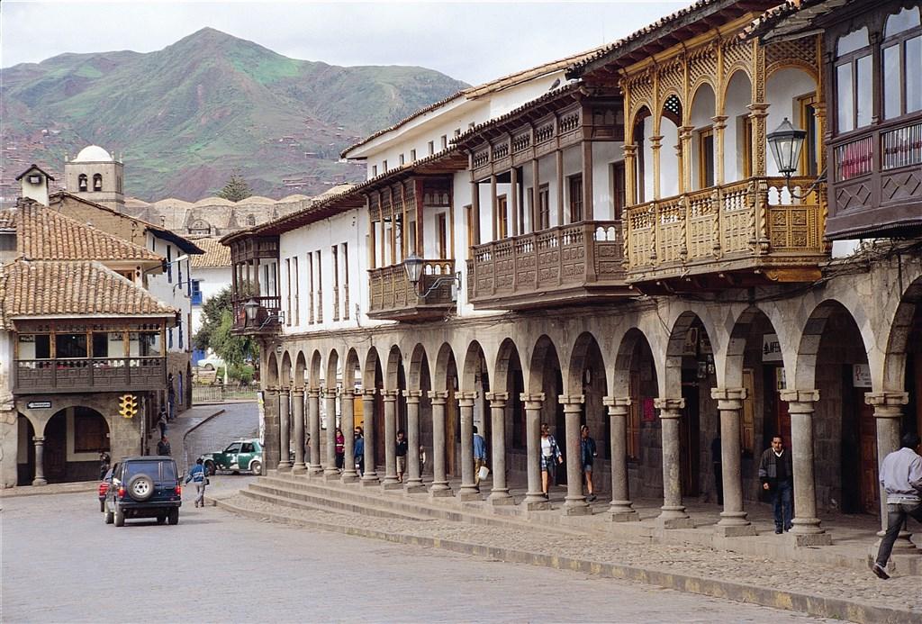 Cusco, hlavní náměstí
