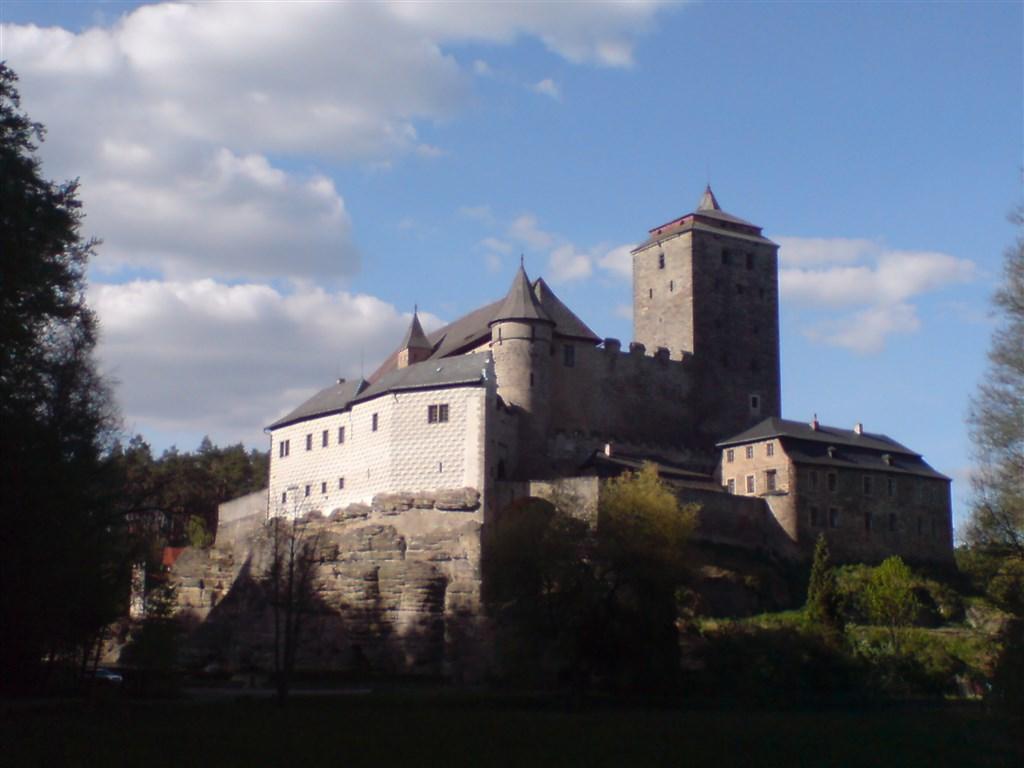 Český ráj - hrad Kost
