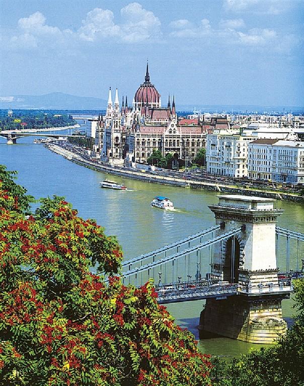 Budapešť, řeka Dunaj