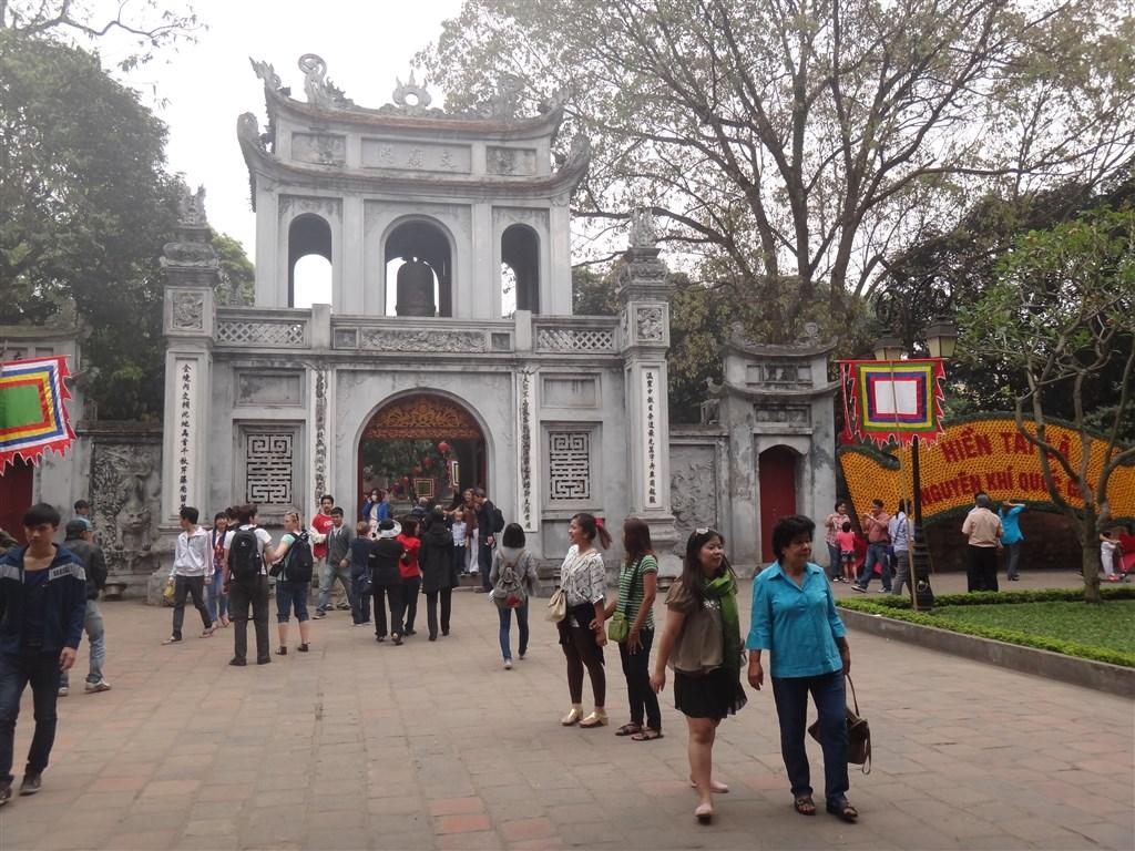 Hanoj - chrám literatury