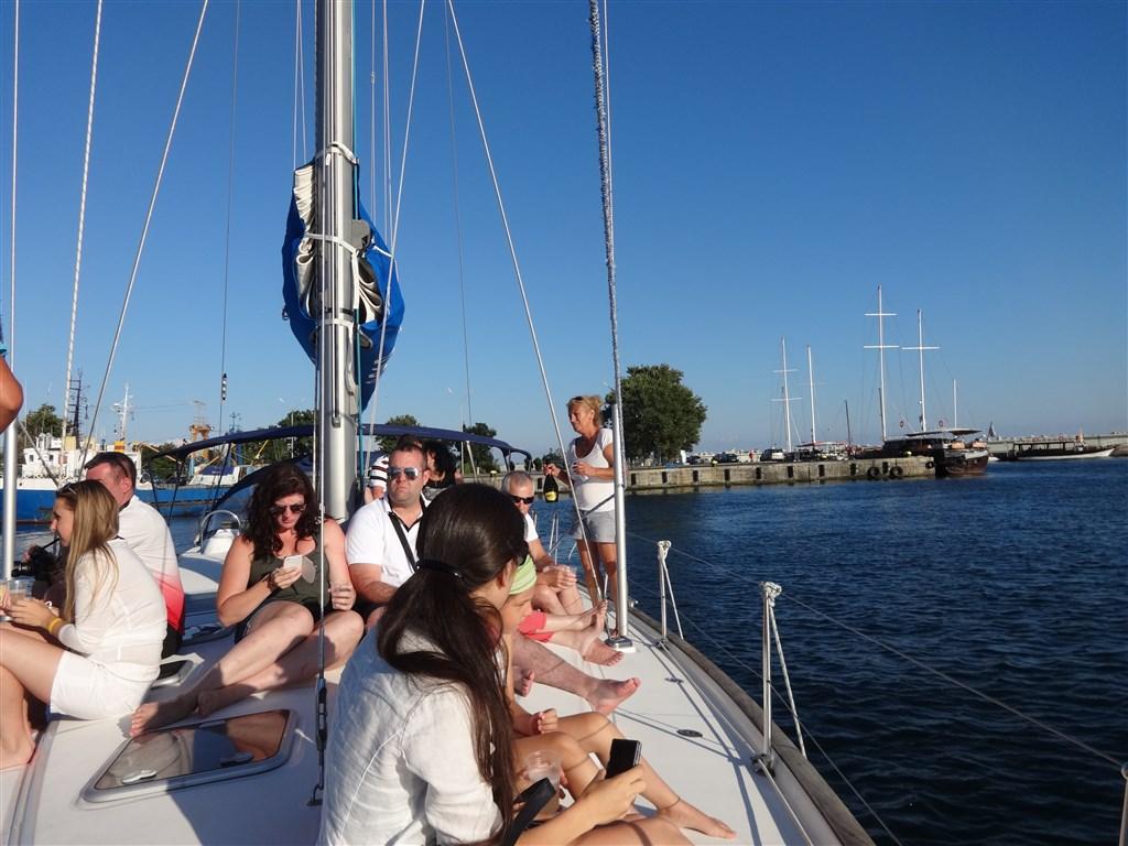 Bulharsko, výlet na jachtě