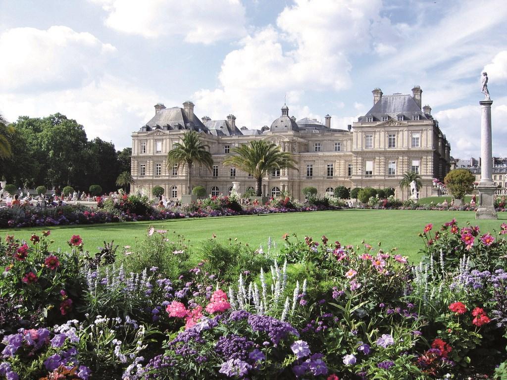 Paříž, Lucemburské zahrady