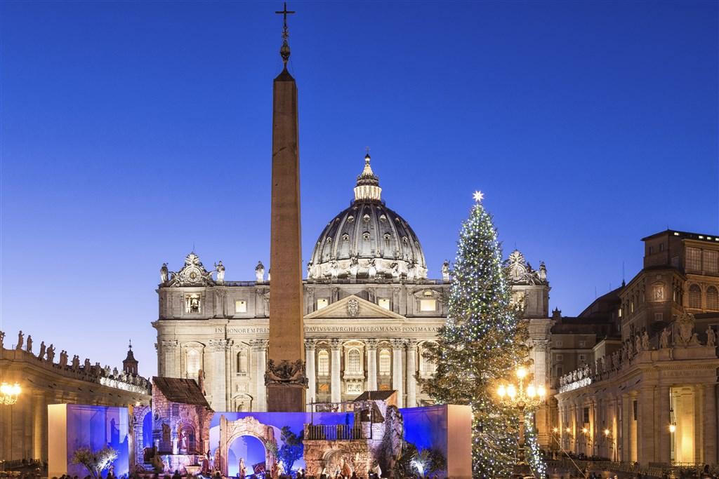 Advent v Římě - letecky
