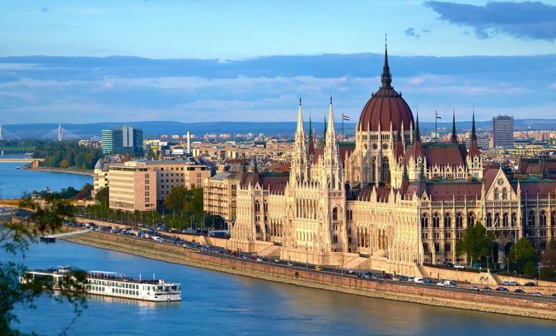Budapešť, dunajský klenot