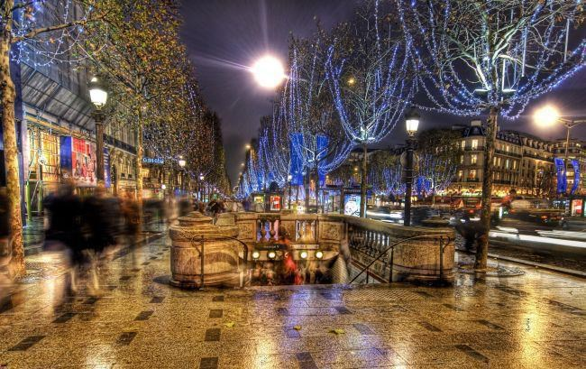 Advent v Paříži a Versailles