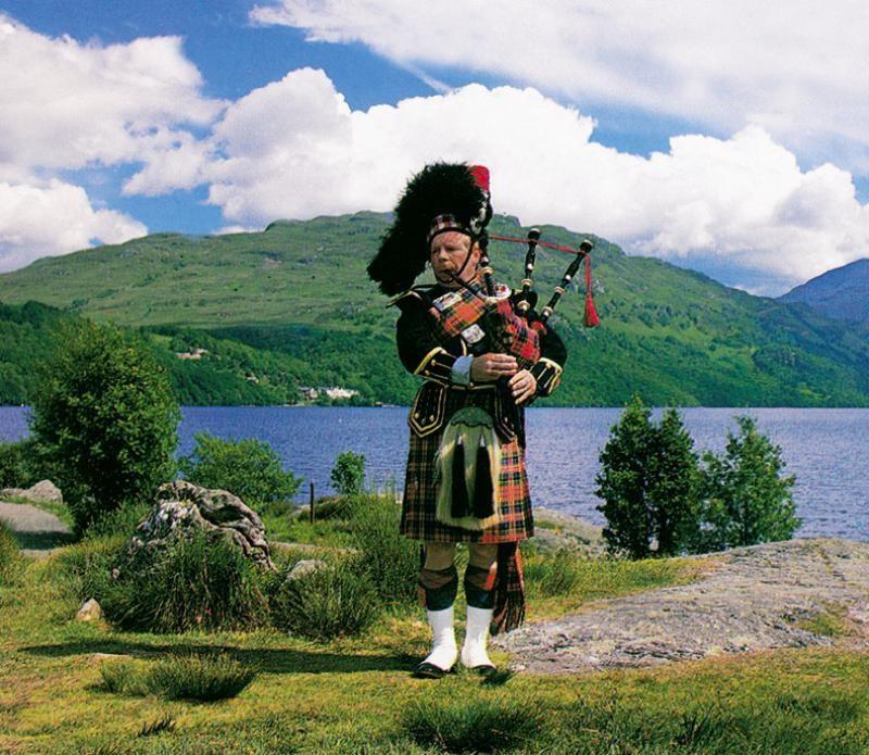 Skotsko - dudák