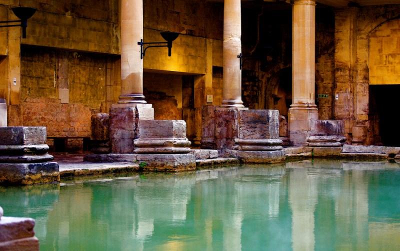 Bath - římské lázně