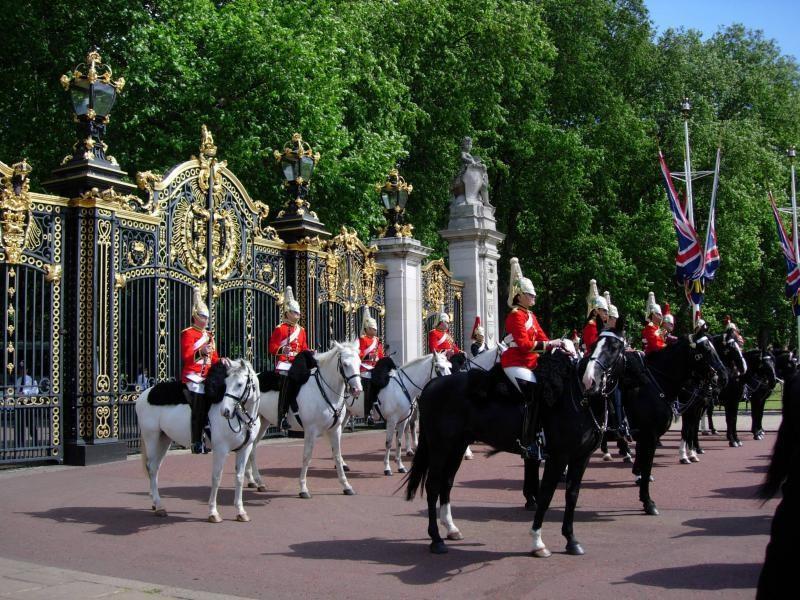 Londýn - Buckingham palace