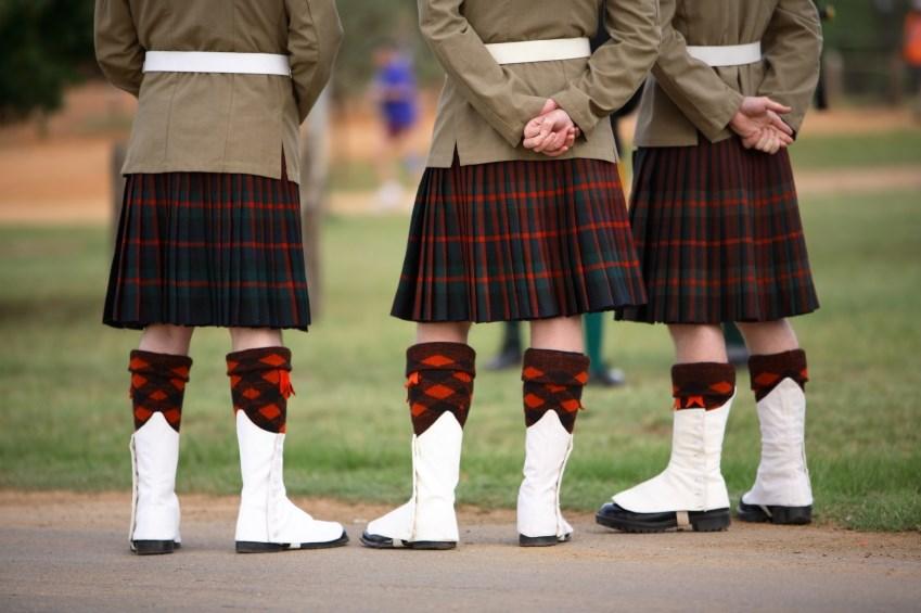 Skotsko - kilt