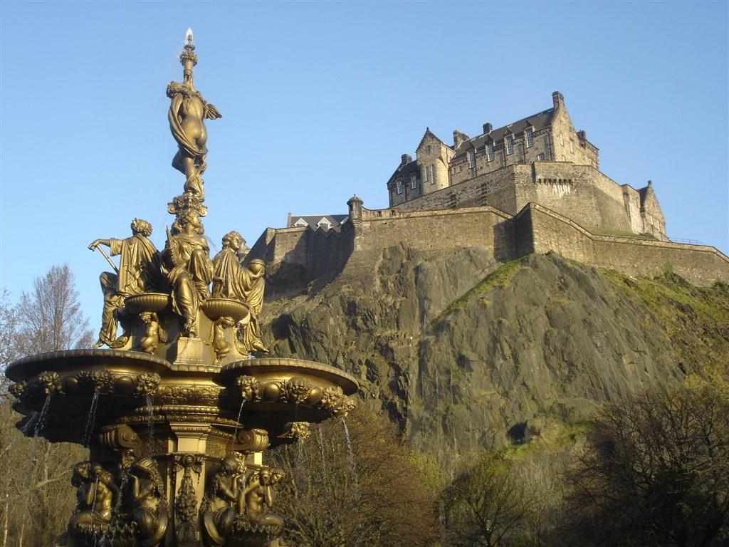 Edinburgh - hrad