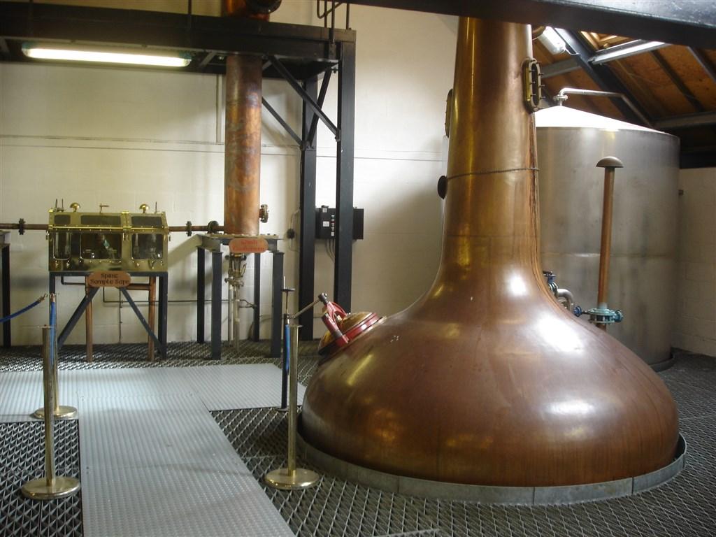 Výrobna whisky