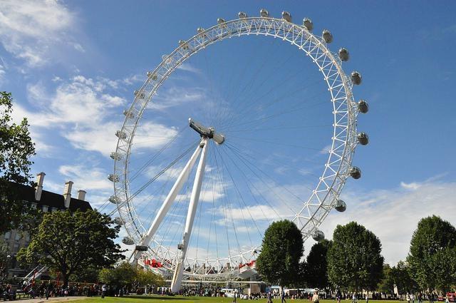 Londýn - vyhlídkové kolo London Eye