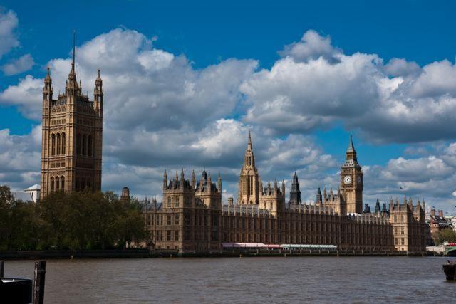 Londýn - parlament