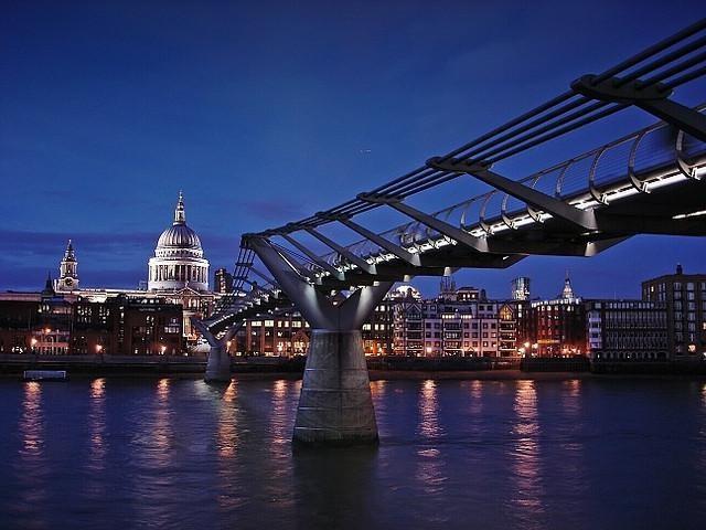 Londýn - Millenium Bridge
