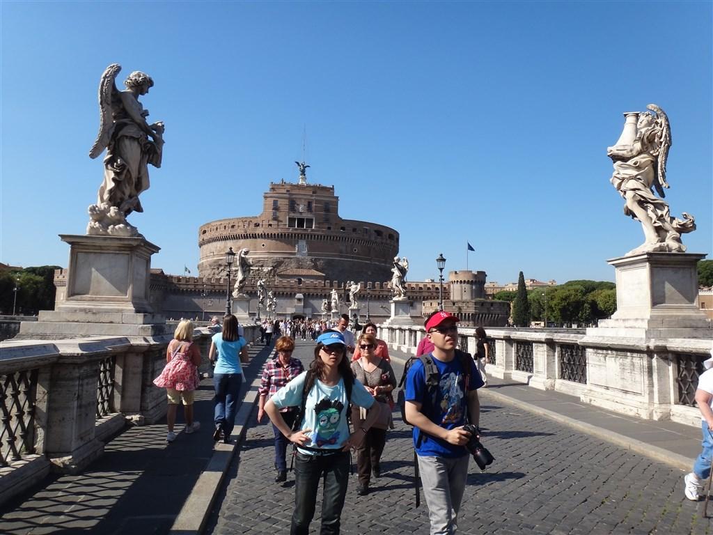 Řím - Andělský hrad