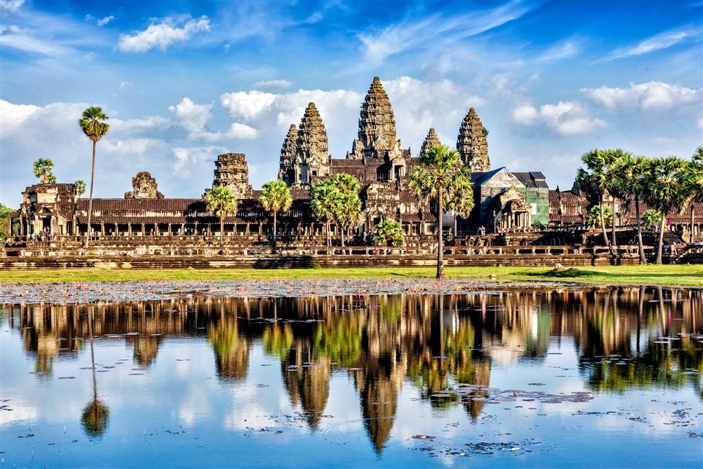 Kambodža - chrám Angkor Wat