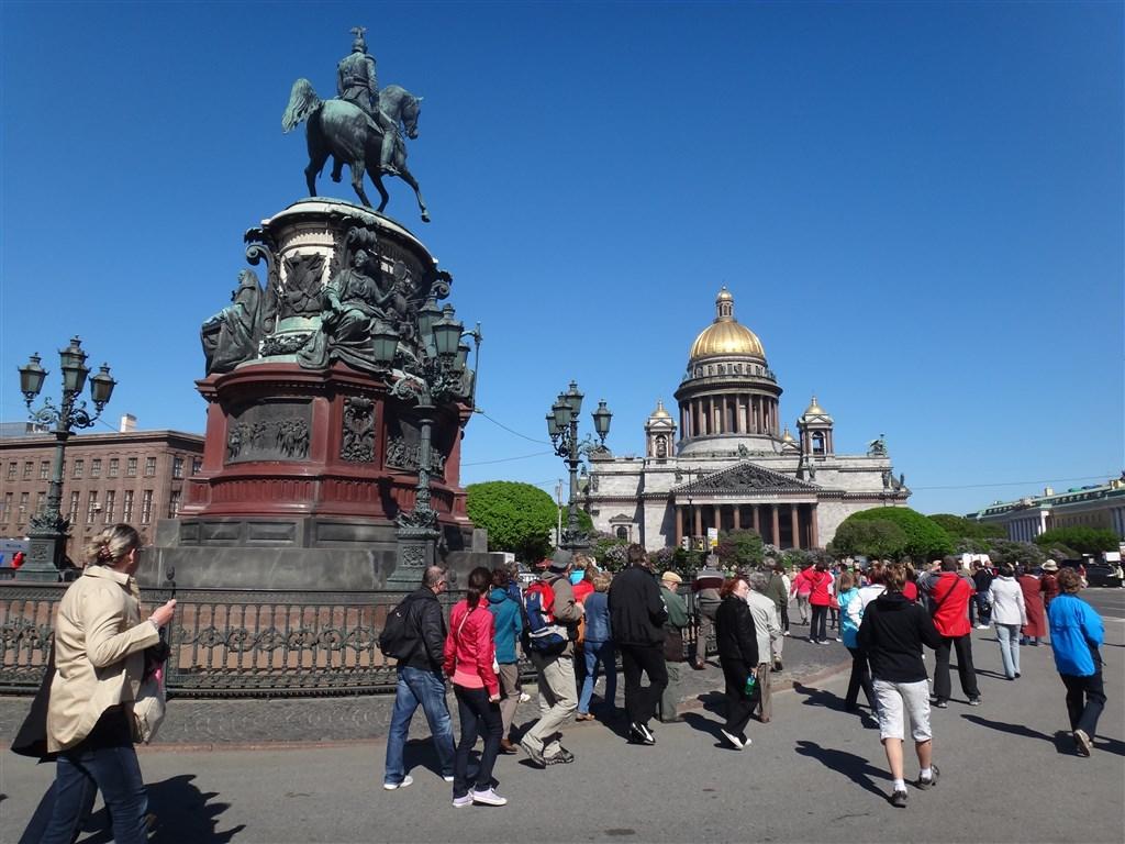 Petrohrad - Izákův chrám