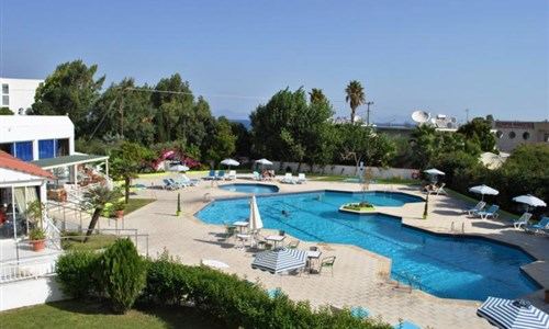 Hotel Happy Days*** - 10/11 nocí - Rhodos, Theologos - Hotel Happy Days - bazén
