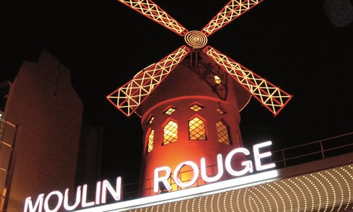 Paříž a Versailles - Paris, Moulin Rouge